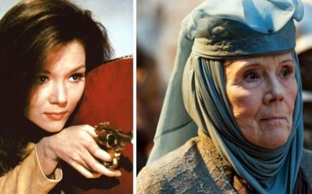 رحيل الممثلة البريطانية ديانا ريج عن عمر 82 عاما