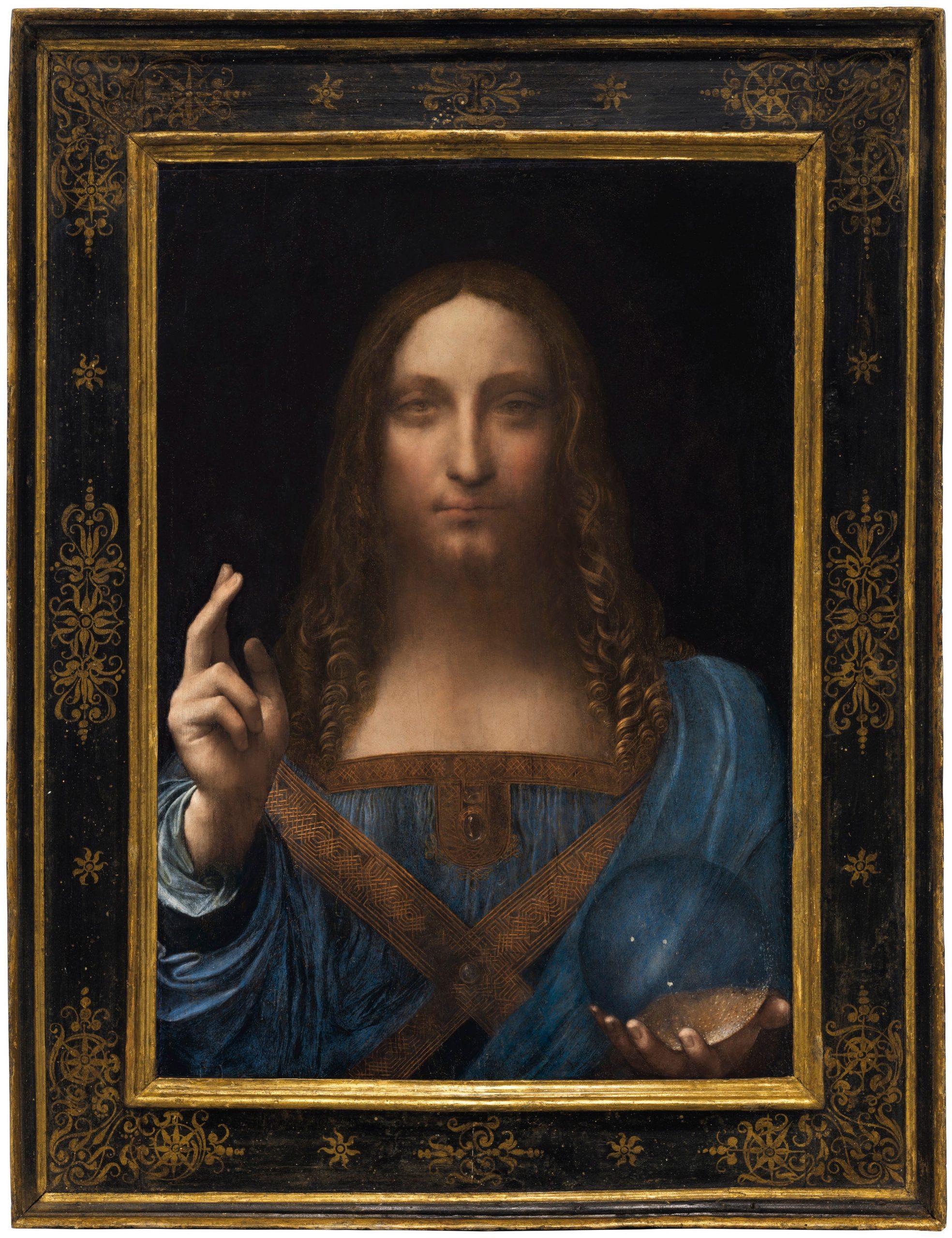 « سالفاتور موندي »: اللوحة التي بيعت ب 450 مليون دولار (إيطاليا)