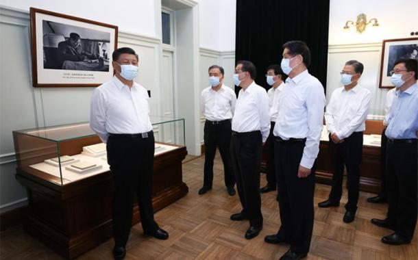 شي جين بينغ يشدد على تحقيق إنجازات جديدة قبل الذكرى المئوية