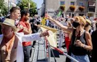 برلين.. شغب وعنف في تظاهرات مناهضة لقيود كورونا