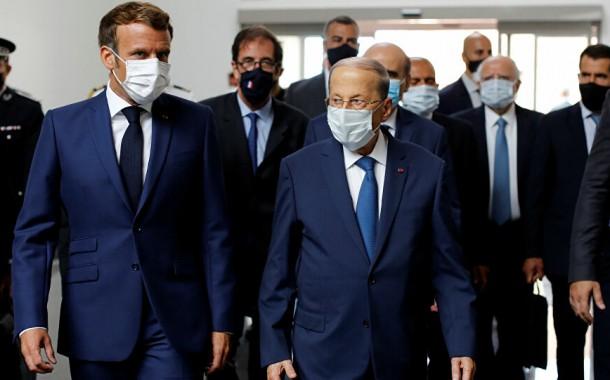 الرئيس الفرنسي يحث على تقديم دعم دولي سريع للبنان