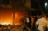 10 جرحى بسبب انفجار مستودع للمحروقات بالحدود اللبنانية السورية