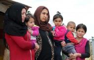 مخيم للنازحات السوريات الأرامل والمطلقات في لبنان