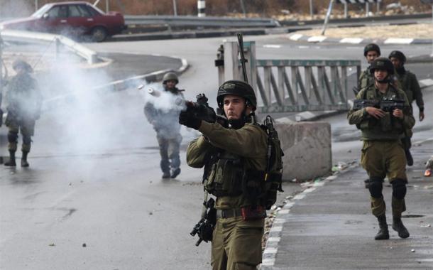 إصابة 47 فلسطينيا في مواجهات مع جيش الاحتلال شمالي الضفة