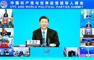 شي جين بينغ على الأحزاب السياسية العالمية تحمل المسؤولية لتحقيق الرفاهية للشعوب وتقدم  البشرية