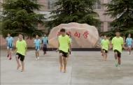 تلاميذ صينيون يتدربون على لعبة