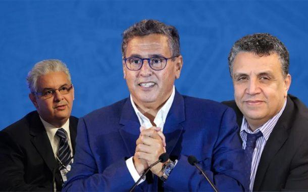 المغرب.. أخنوش يعلن عن تشكيل 3 أحزاب لحكومة أغلبية
